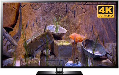 4k zen video fish tank