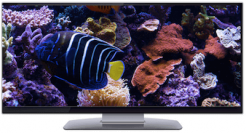 ultrawide screensaver TV PC aquarium